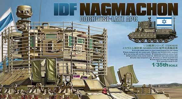 Tiger Modello 1 35 Idf Nagmachon Doghouse-Late APC  4616