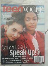 Teen Vogue Magazine - Smart Girls Speak Up! December 2016, New