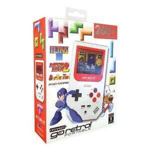Retrobit Go Retro Portable Game Player With 260 Games