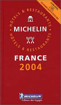 """AS NEW"" Michelin Staff, Michelin Red Guide - French Language Edition: France (M"