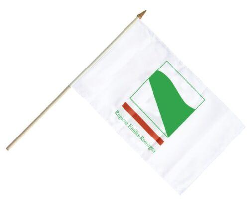 Italien Emilia Romagna Stockflagge Flaggen Fahnen Stockfahne 30x45cm