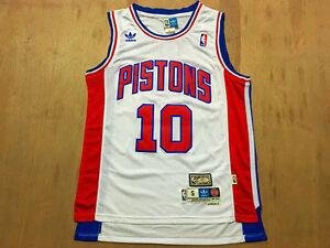 NEW Detroit Pistons #10 Dennis Rodman Retro Swingman Basketball Jersey Blue