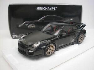 PORSCHE-911-997-II-GT2-RS-2011-SCHWARZ-1-18-MINICHAMPS-100069401-NEU