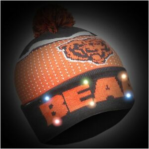 Chicago Bears Big Logo Light Up Beanie New 2018 Style Nfl Winter Cap