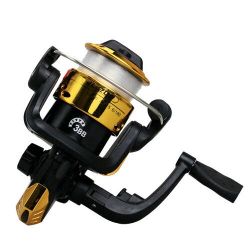 3BB Ball Bearing Left//Right Interchange Fresh Salt//Water Fishing Spinning Reel