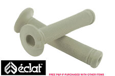 ECLAT ASHLEY CHARLES SIGNATURE BMX HANDLEBAR GRIPS, ELASTOMER RUBBER GREY