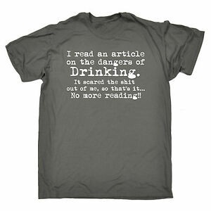 Dangers-Of-Drinking-MENS-T-SHIRT-birthday-booze-beer-wine-alcohol-funny-gift
