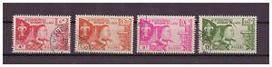 Laos-Vaterland-Religion-Monarchie-amp-Verfassung-MiNr-89-92-1959-used