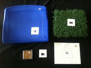 METRODOME-GAME-USED-Seat-Bottom-TURF-ROOF-LOCKER-Minnesota-Vikings-Twins-Gift