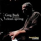 Clean Spring by Greg Burk (CD, Mar-2016, SteepleChase)