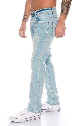 Rock Creek Hommes Jeans Regular Fit Bleu Clair Hommes Jeans Droit Jambe rc-2109
