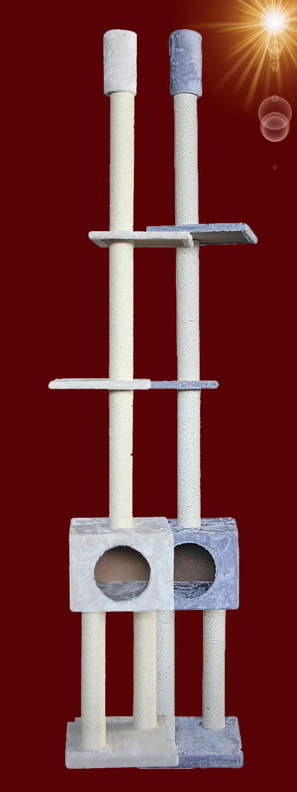 NOBBY Qualität  ️ KATZEN KRATZBAUM 239-259 cm cm cm  ️ Höhle Kletterbaum Möbel (729) c0a3ae