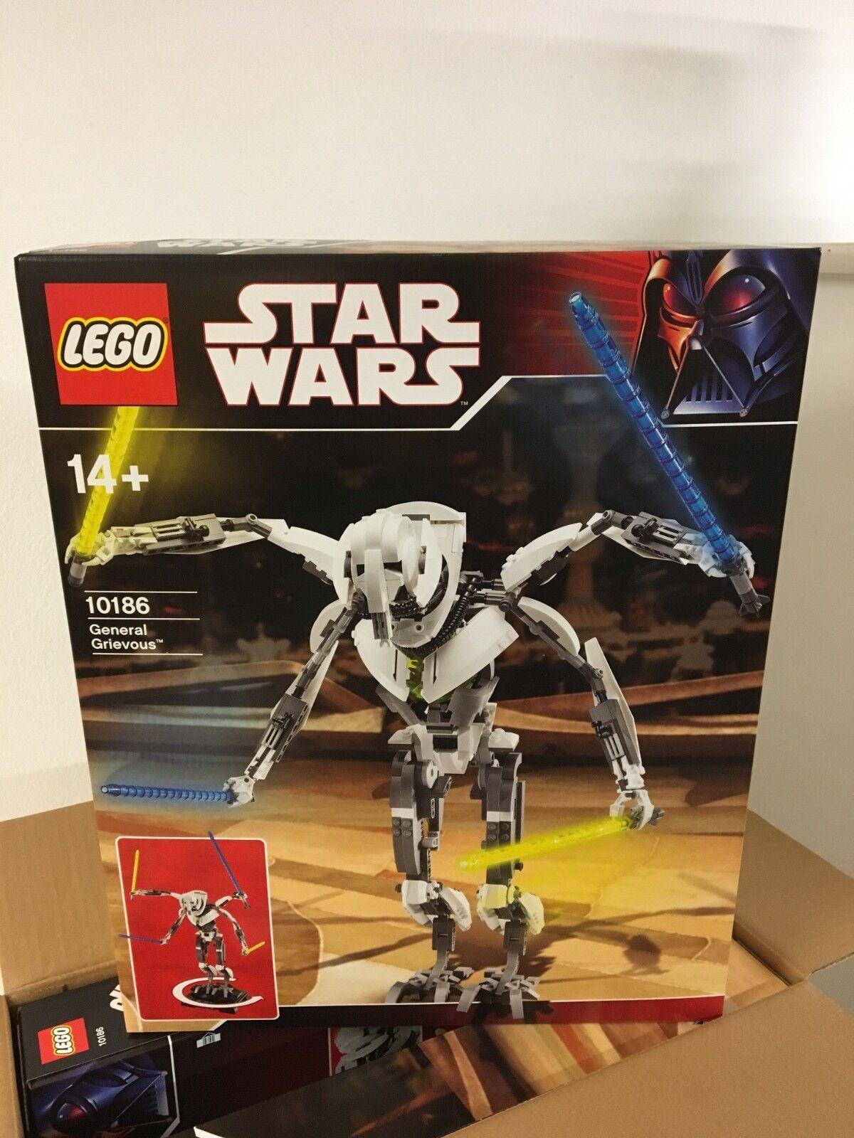 LEGO 10186 Star Wars General Grievous UCS UNGEÖFFNET   NEU   SEHR SELTEN