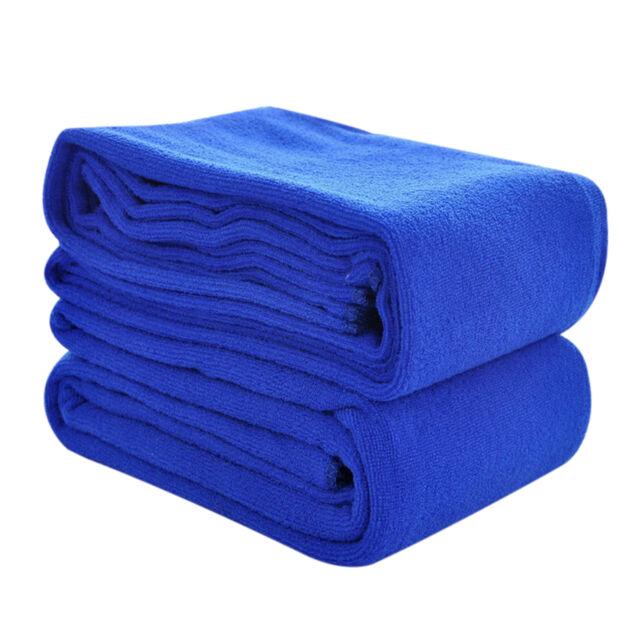 Absorbent Microfiber Bath Beach Towel Drying Washcloth Shower Nano Washcloths