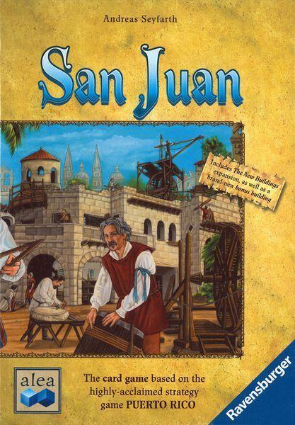 San Juan Card Game - Build your City City City via Card Play & Resource Management 195f08