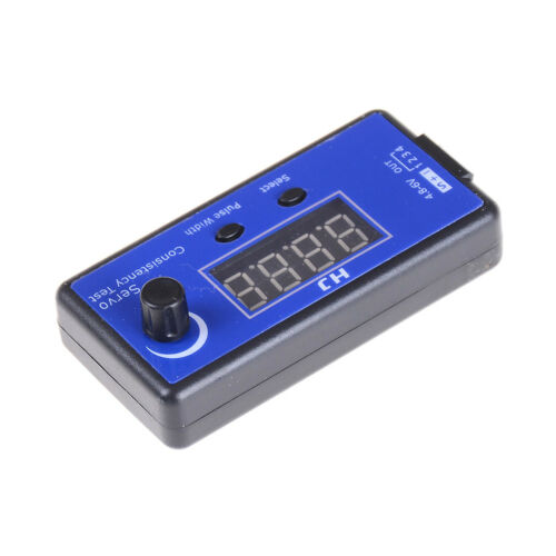 RC Digital Servo Tester ESC Consistency Tester for RC Helicopter Airplane Ca RA√