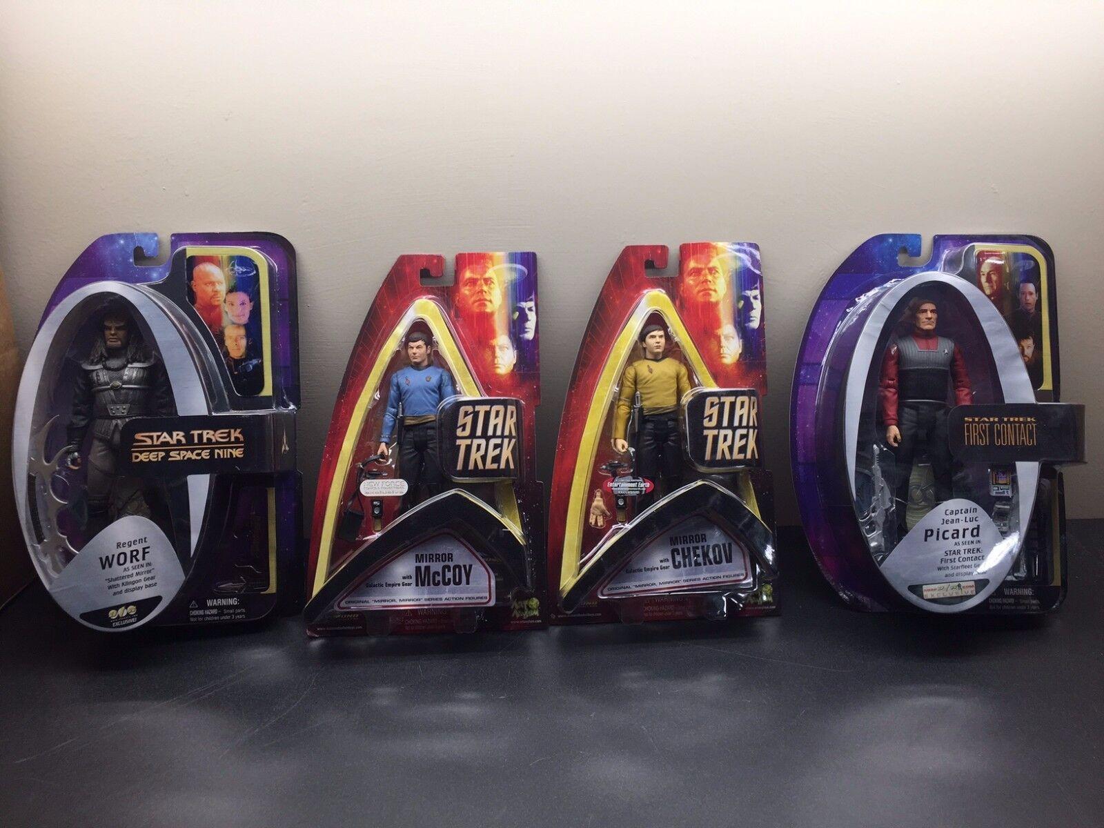 Star Trek: McCoy (New Force) Chekov Chekov Chekov (Earth) Picard / Worf (AFX)... All 4 110.00 18e3d2