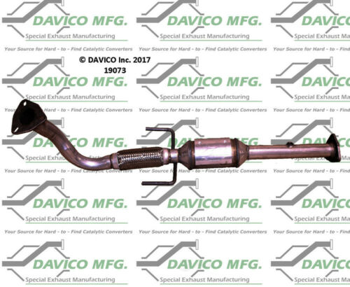Catalytic Converter-Exact-Fit Davico Exc CA 19073