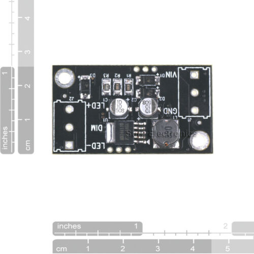 5w LED Driver board buck Constant Current 1A Step-down DC//DC power supply