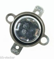 Bimetallschalter Schliesser 80° Temperaturschalter Thermoschalter  6 12 24 240 V