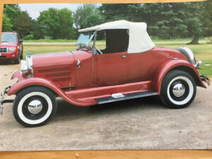 1928 Ford Model A Roadster Convertible