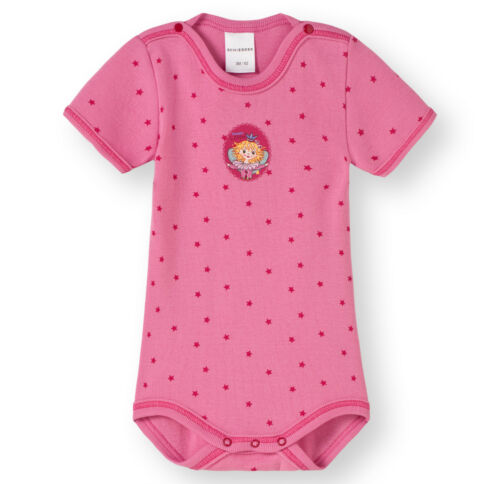 62-104 Halbarm Bodies NEU SCHIESSER Baby Body 1//2 Prinzessin Lillifee Gr