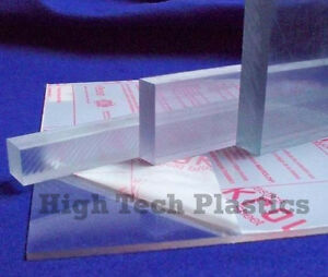 """Panel Plate .030/"""" x 24/"""" x 48/"""" Inch Clear Color Polycarbonate Sheet"""