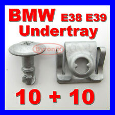 4 Pairs Engine Undertray Clips Splashguard Clamps Shield Cover For BMW E38 E39
