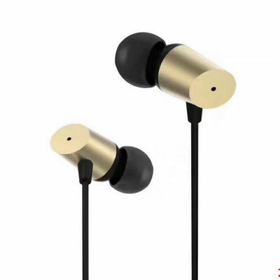 3.5mm In-Ear Metal Earphone Bass Stereo Headphone Headset Earbud With Microphone