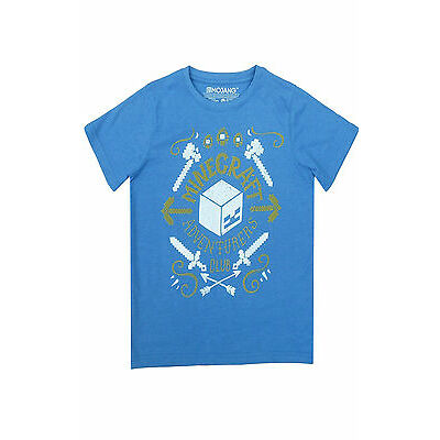 Minecraft Boys Vintage Creeper Duality Short Sleeve T-Shirt Top Age 7 to 14 Year