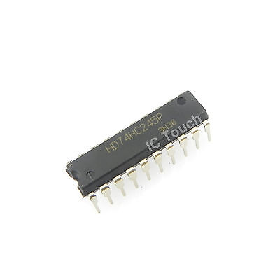 2 x SN74LV245A OCTAL BUS TRANSCEIVERS WITH 3-STATE OUTPUTS TI SO-20 2pcs