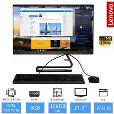 """Lenovo IdeaCentre A340 21.5"""" FHD All in One PC Intel Pentium 5405U 4GB 128GB SSD"""