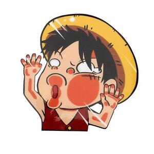Anime one piece monkey d luffy car sticker window auto decal wall - Stickers muraux one piece ...