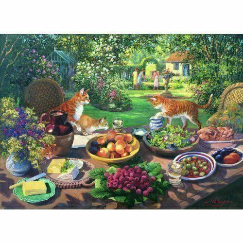 Extra Large Jigsaw Puzzle House Of Puzzles Garden Party