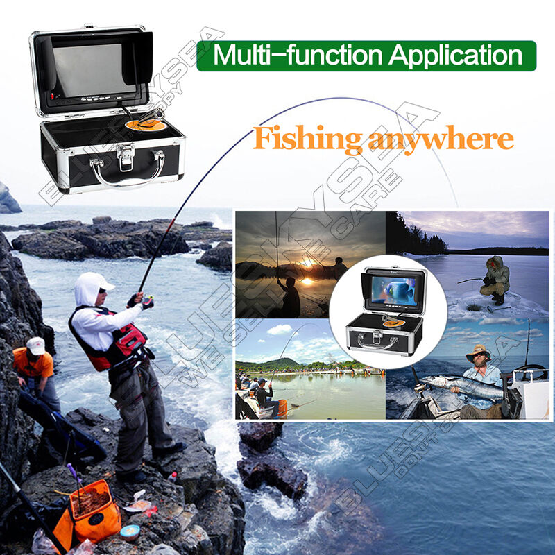 EYOYO 7-Zoll-LCD-HD-Unterwasservideofischerkamera-Fischfinder mit DVR 1000TVL HD 1000TVL DVR 9fb04a