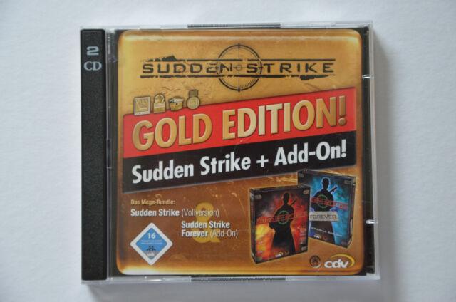 Sudden Strike - Gold Edition (PC, 2001, DVD-Box) Strategie