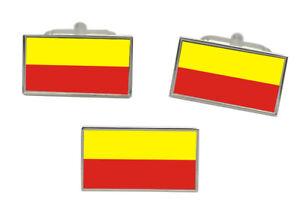 Flight Tracker České Budějovice (tschechisch) Flagge Manschettenknopf Und Krawatte Nadel Set