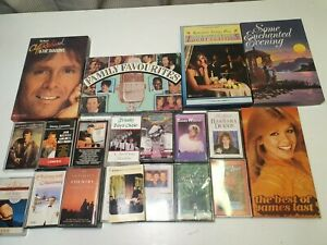 Vintage Mostly Country Music Cassette Tapes Job Lot of 36 Total