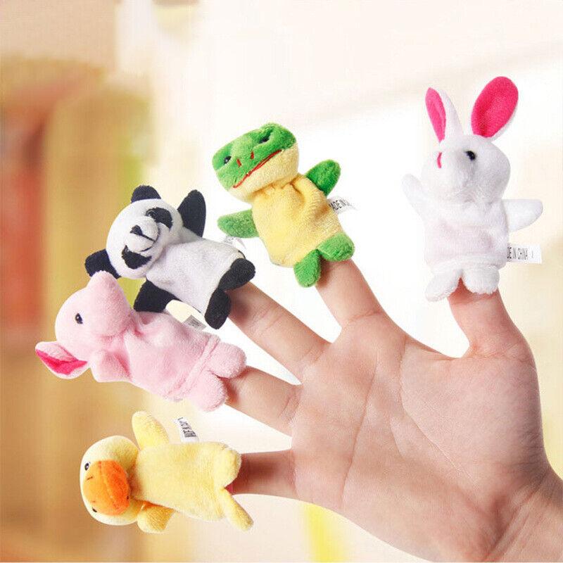 10 Pcs Kids Baby Finger Animal Educational Story Toys Puppets Cloth Child Plush 2