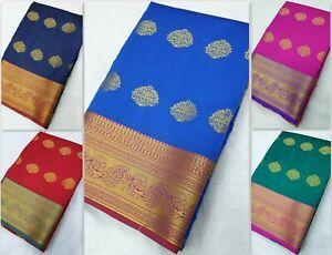 Other Women's Clothing Banarasi Saree Designer Indian Kanchipuram Silk Sari Traditional Pakistani Jb Women's Clothing