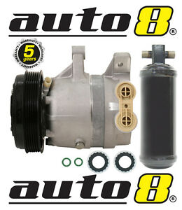 New-Air-Conditioning-Compressor-amp-Drier-To-Fit-Holden-Commodore-VT-VU-VX-VY-V6