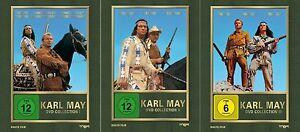 9x-KARL-MAY-Winnetou-ANTICO-SHATTERHAND-9-Box-DVD-1-2-3-SILVER-LAKE