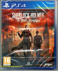 Sherlock-Holmes-The-Devil-s-Daughter-039-New-and-Sealed-039-PS4-Four