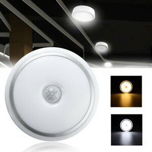 Details About Mounted Motion Sensor Radar Human Induction Acrylic Led Ceiling Lights Fixtures