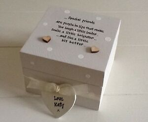 Image Is Loading Shabby Personalised Chic Gift Special Best Friend Trinket