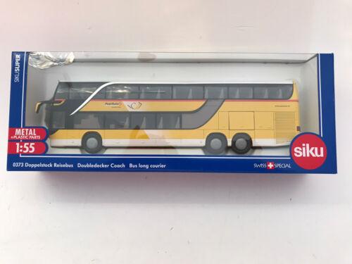 Siku 0373 3729 3732 suiza CH Setra Postbus werbemodell rareza nuevo embalaje original