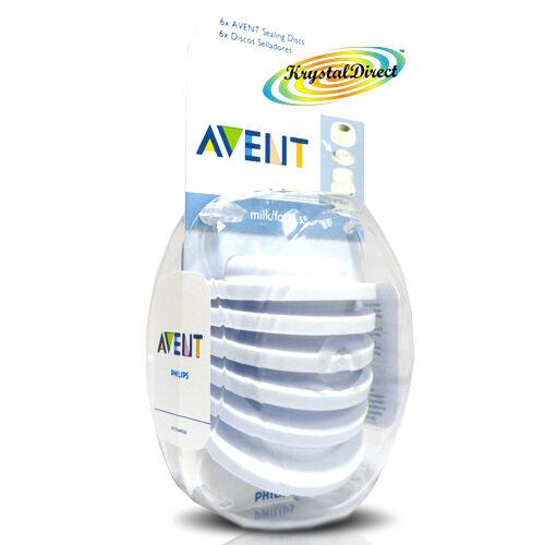 Philips Avent SCF143//06 6x Baby Bottle Cup Leak Proof Sealing Discs BPA Free