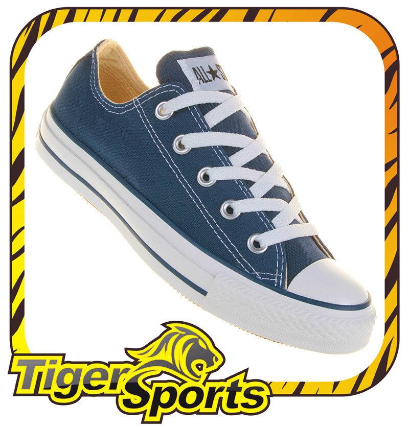 Converse - Chucks - All Star OX Navy Blau M9697 - Schuhe NEU - Größen: 35 - 48