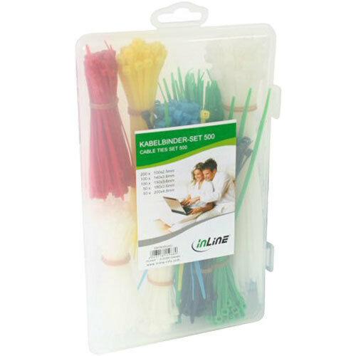 InLine ® Fascette per cavi-Set 500 pezzi