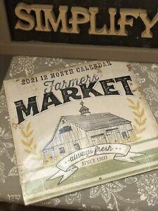New Farmers Market Calendar 2021 12-Month Jennifer Pugh ...